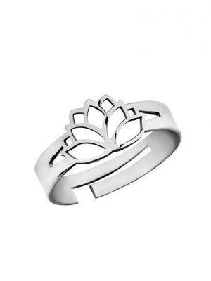 LaViida Ring - Lotusblüte - Silber - RSI309RH