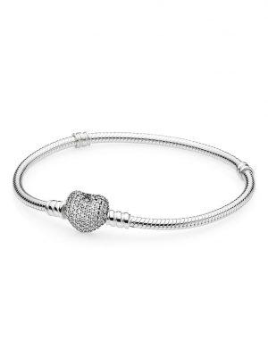 Pandora Armband - Pavé-Herz - 590727CZ