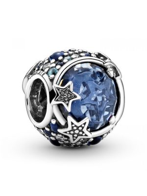 Pandora Charm - Crescent moon and star - 799209C01