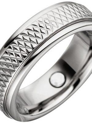 SIGO Partner Ring mit Magnet / Magnetring aus Edelstahl