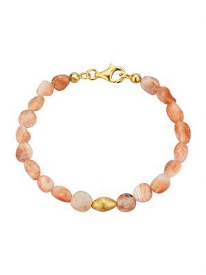Sonnenstein-Armband Diemer Farbstein Orange