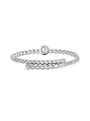Stardiamant Ring - Brillant Weißgold 585 - D6477/W