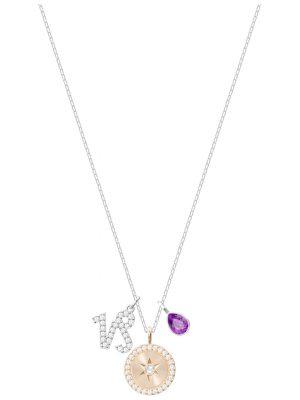 Swarovski 5349216 Kette mit Zodiac Anhänger Steinbock Violett