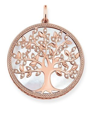 Thomas Sabo Anhänger - Glam and Soul - Weisser Tree of Love - PE761-435-14