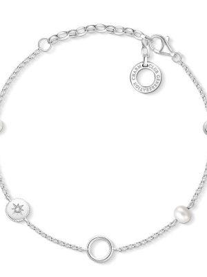 Thomas Sabo Armband - Charm Club - Perlen - X0273-167-14-L19v