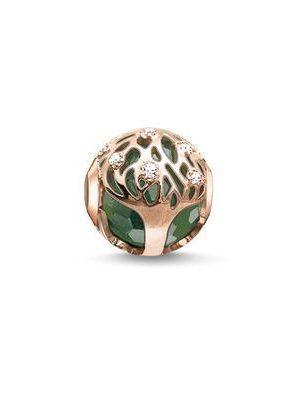 Thomas Sabo Beads - Lebensbaum grün - K0168-842-6