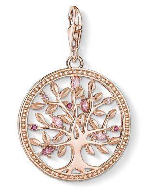 Thomas Sabo Charm - Charm Club - Tree of Love Rosé - 1700-626-9