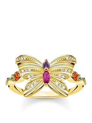 Thomas Sabo Ring - Schmetterling gold - TR2285-488-7