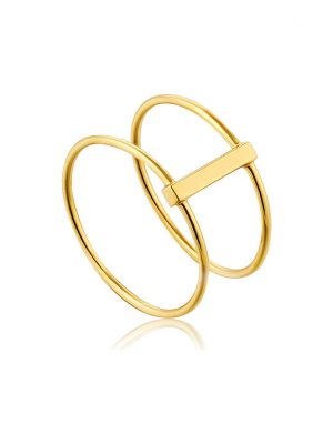 Ania Haie Damenring Modern Double Ring R002-05G-54