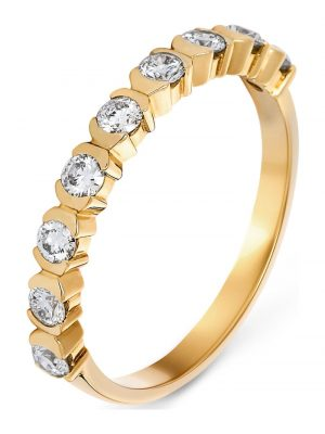 CHRIST Diamonds Damen-Damenring 9 Diamant CHRIST Diamonds gelbgold