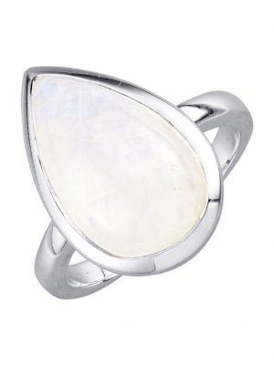 Damenring Jamelli Weiß