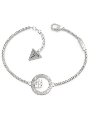 Guess Armband Crystal In Circle UBB20131-S