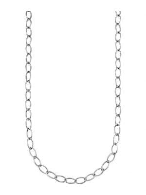 Halskette Diemer Platin Silberfarben