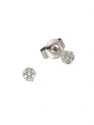 Ohrstecker 585/- Gold Diamant weiß Diamant 0,35cm Glänzend 0,055ct. Diamonds by Ellen K. weiß