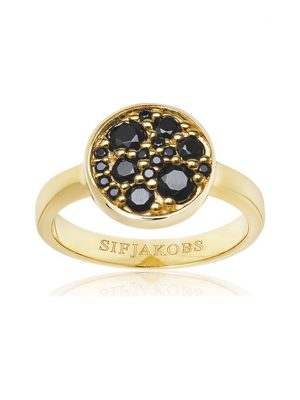 Sif Jakobs Jewellery Damenring SJ-R1056-BK-YG-58
