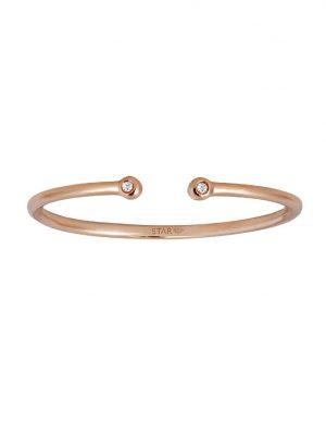 Stardiamant Ring - Brillant Roségold 585 - D6475/R