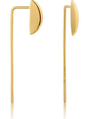 Ania Haie Damen-Ohrhänger Geometry Soliud Drop Earrimgs 925er Silber