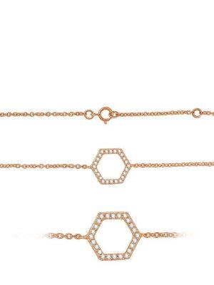 Best of Diamonds Armband - Brillant Roségold 585 - B175RG