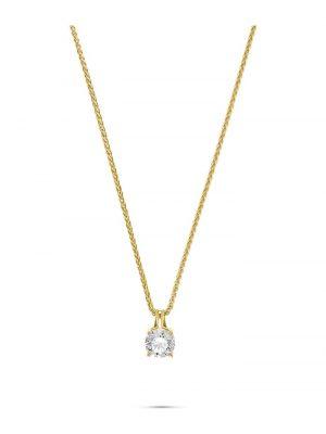 CHRIST Damen-Kette 1 Diamant CHRIST Diamonds gelbgold