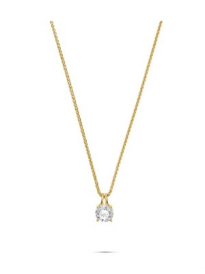 CHRIST Damen-Kette 1 Diamant CHRIST Diamonds gelbgold