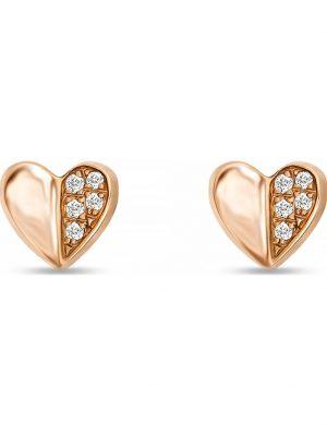 CHRIST Diamonds Damen-Ohrstecker 10 Diamant CHRIST Diamonds roségold