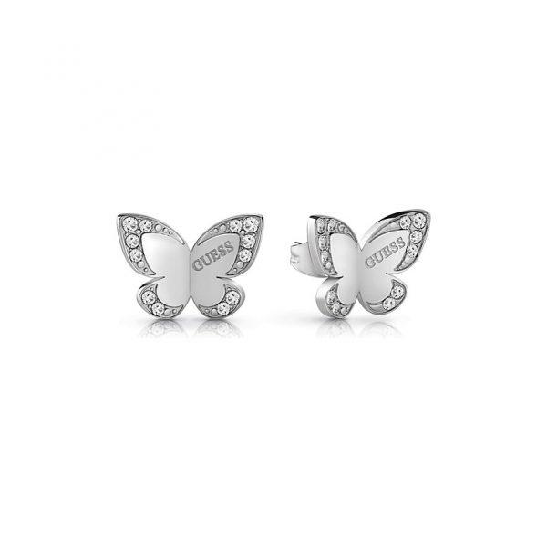 Guess Ohrstecker Butterfly JUBE78010JW
