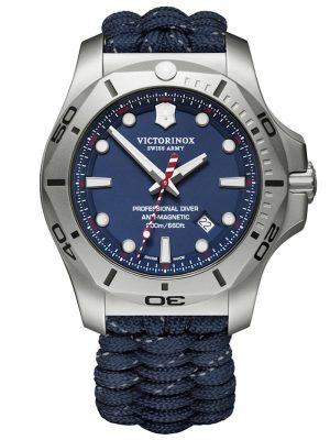 Herrenuhr I.N.O.X. Professional Diver mit 2 Armbändern Victorinox Blau