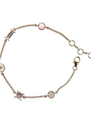 Jeberg Armband - Pearl and Stone - 7230