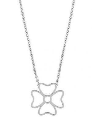 LaViida Halskette - Kleeblatt Silber - NSI306RH