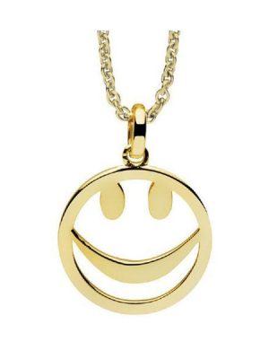 Nana Kay Halskette - Smiley Gold - NK003