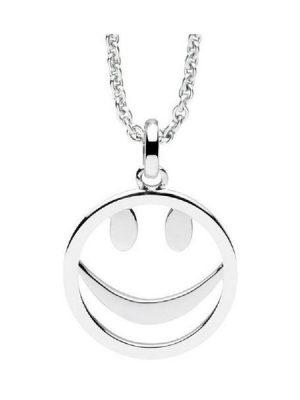 Nana Kay Halskette - Smiley Silver - NK001