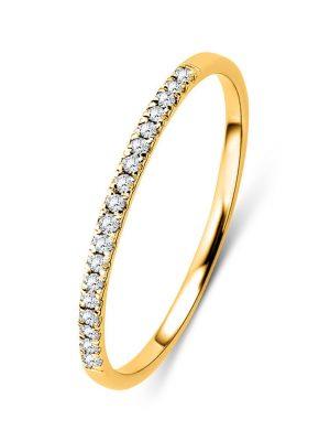 Ring aus 375 Gold mit 0.09 Karat Diamanten-54