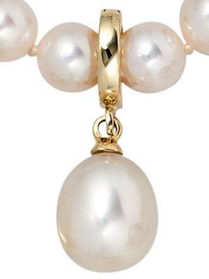 SIGO Einhänger Anhänger 585 Gold Gelbgold 1 Süßwasser Perle Perlenanhänger