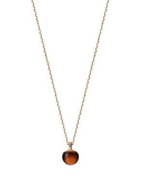 Stardiamant Collier - Brillant Gelbgold 585 - D3119G