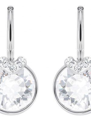 Swarovski 5292855 Ohrringe Ohrschmuck Damen Bella V Weiss Silber-Ton
