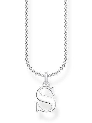 Thomas Sabo Halskette - Buchstabe S - KE2028-001-21-L45V silber