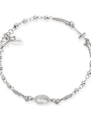 Amen Damen-Armband 925er Silber 15 Perle