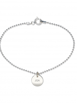 Beka & Bell Armband Soli Damen Junggesellinnenabschied JGA Silber Gr. M
