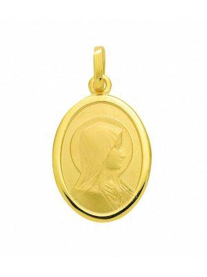 Damen Goldschmuck 585 Gold Anhänger Madonna 1001 Diamonds gold