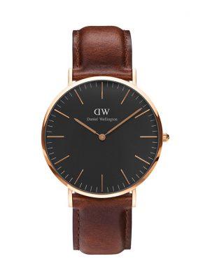 Daniel Wellington Herrenuhr Classic Black St Mawes DW00100124