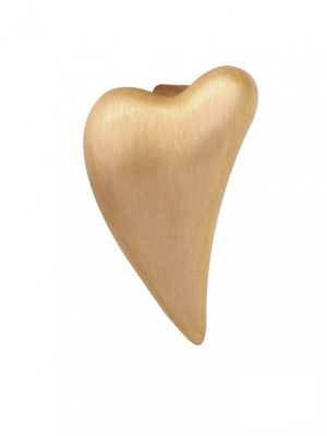 Endless 25351 Charm Brushed Heart Gelb-Gold