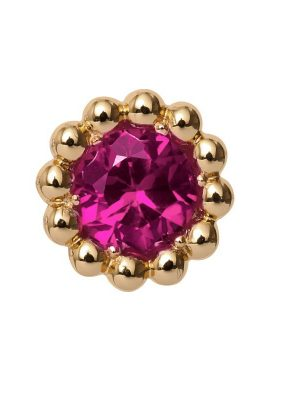 Endless 25750 Charm Pink Ruby Flower