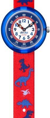 Flik Flak FBNP117 Jungen-Uhr Dinosauritos Quarz Textil Armband Ø 31,85 mm
