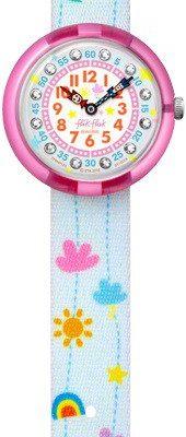 Flik Flak FBNP120 Mädchen-Uhr Hanging Cloud Quarz Textil Armband