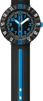 Flik Flak FCSP031 Jungen-Uhr Blue Ahead Quarz Textil Armband Ø 36,70 mm