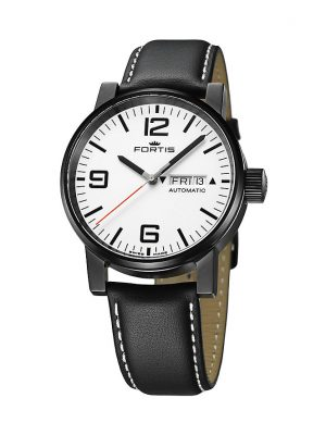 Fortis Unisexuhr Spacematic Stealth White 623.18.12