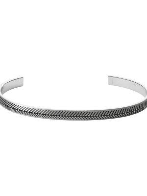 Fossil Herren-Armband Edelstahl
