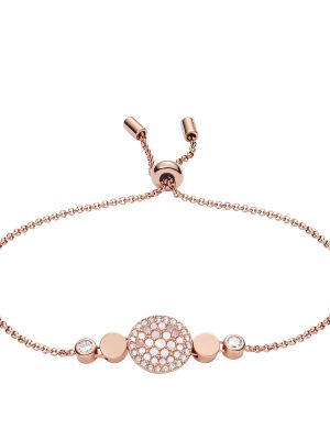 Fossil JF02905791 Armband Disc Mother Of Perl Perlmut Rosé-Ton