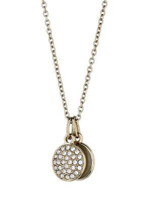 Halskette aus Edelstahl mit Perlmutt