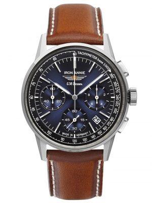 Herrenuhr Chronograph G38 Dessau Iron Annie Blau